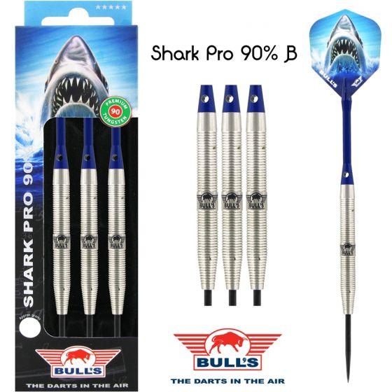 STEEL TIP - SHARK PRO B 90% - Bulls