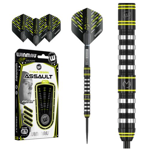 Steel Tip - Winmau - Michael van Gerwen Assault 90 Tungsten - 26gr