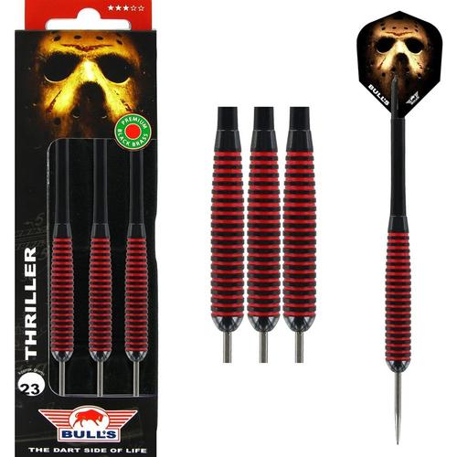 Steel Tip - Bull's - Thriller Black Brass - 23gr
