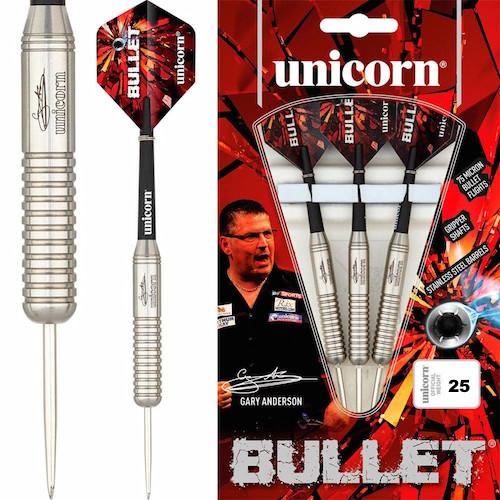 Steel Tip - Unicorn - Bullet Gary Anderson P2 Stainless Steel - 25gr