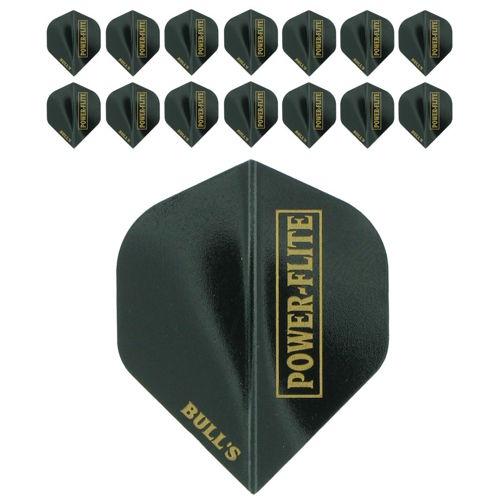 Bull's Powerflite L 5-pack Black-Gold (15stuks)