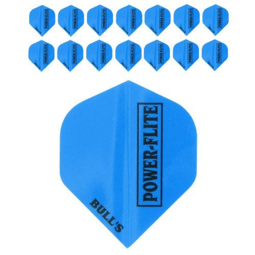 Bull's Powerflite L 5-pack Blue (15stuks)