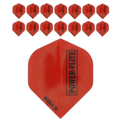 Bull's Powerflite L 5-pack Red (15stuks)
