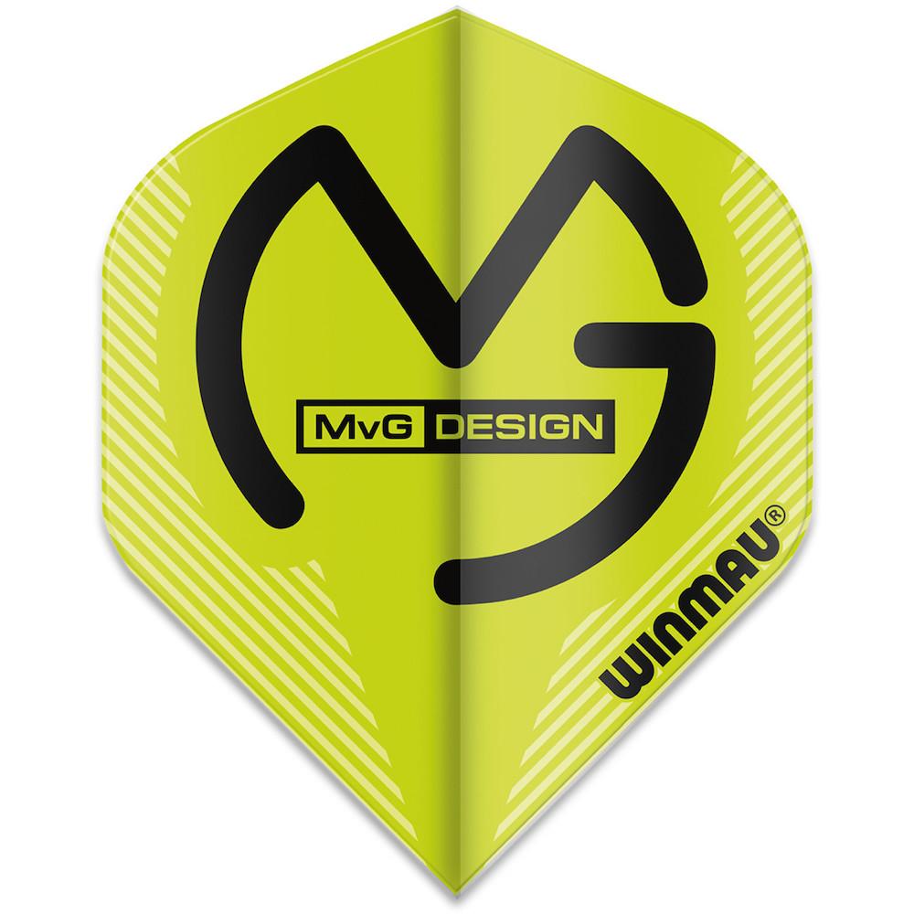 Winmau Michael Van Gerwen Mega Standard Flight Green 1