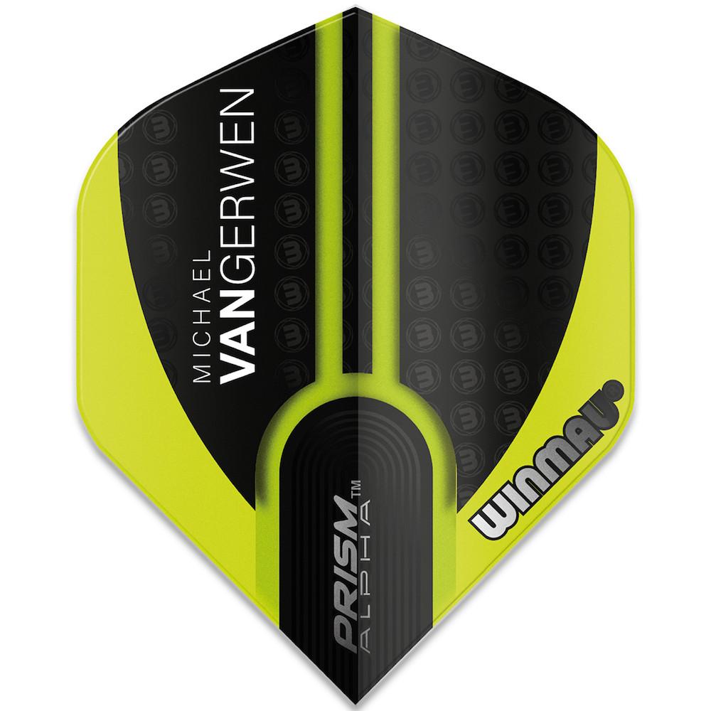 Winmau Michael Van Gerwen Alpha Std Black Green V1