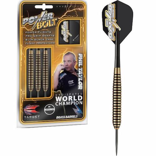 Steel Tip - Power-Bolt Brass Taylor - 24 gram