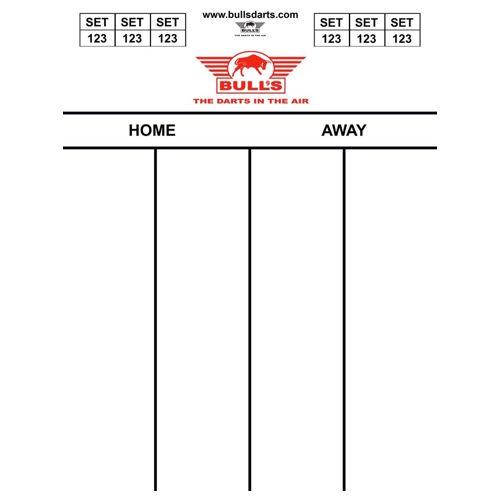 Bull's - Scorebord - Darttel Flex 60x44 cm.-501