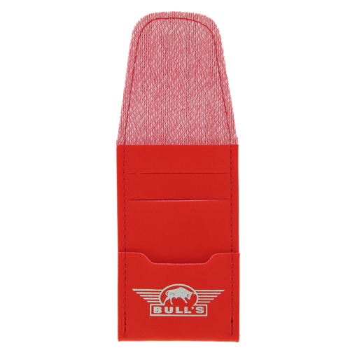 Bull's-Tuck-In Leather Case-Red