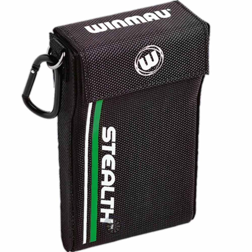 Winmau Stealth Dart Case - Black-Green