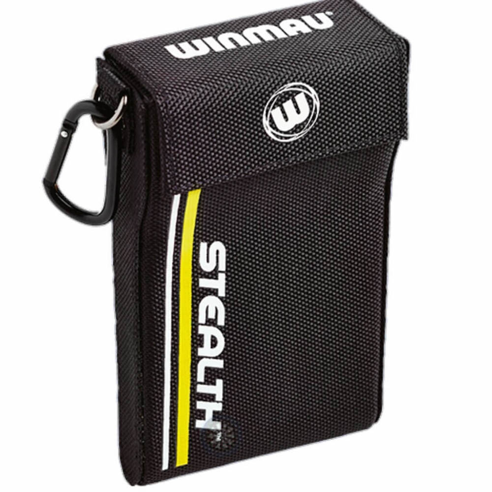 Winmau Stealth Dart Case - Black-Yellow