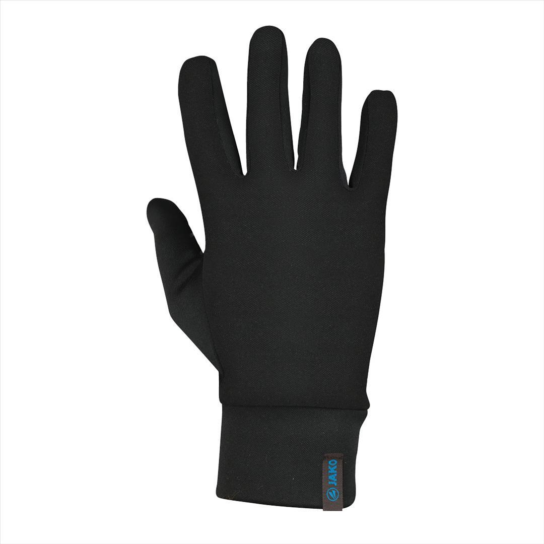 Spelerhandschoenen functioneel warm zwart