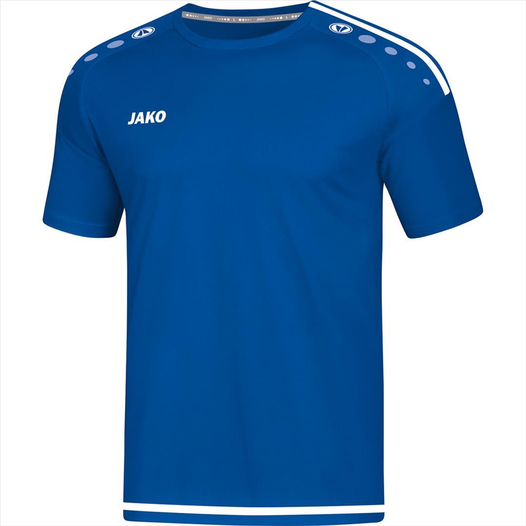 T-shirt/Shirt Striker 2.0  KM royal/wit